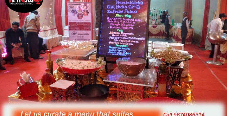 la fiesta wedding catering menu